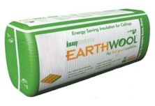 Knauf Earthwool R6.0 Thermal Ceiling Insulation Batt (430W x 1160L) 275mm